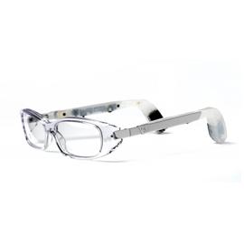apparecchi acustici ad occhiale per via aerea